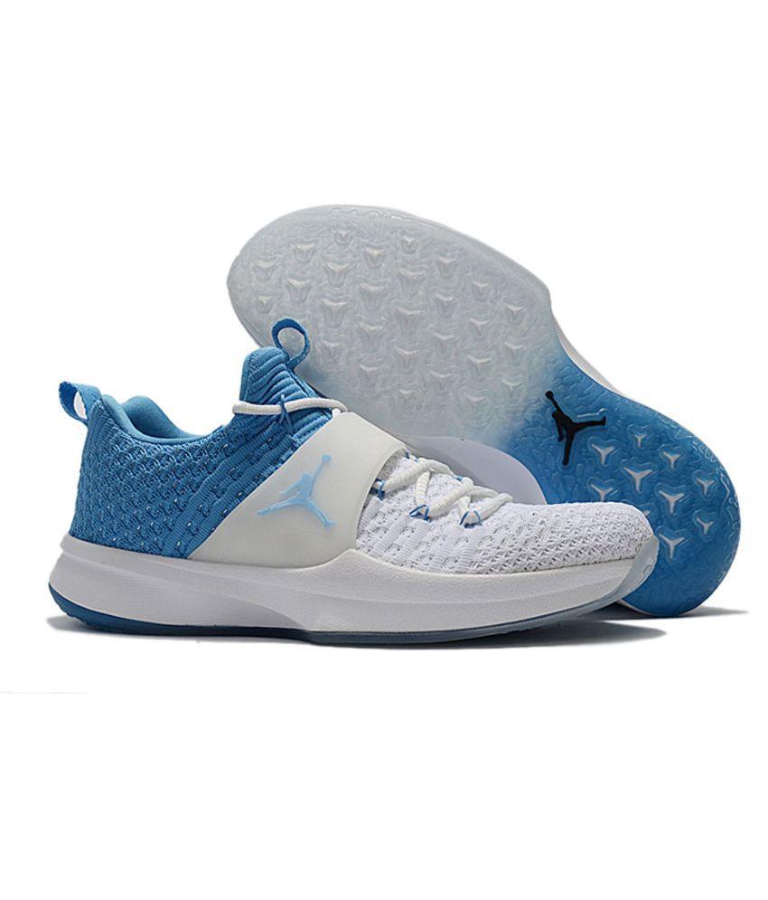 1a1ed9e0dbd4 Nike AIR JORDAN Blue Running Shoes - Buy Nike AIR JORDAN Blue ...