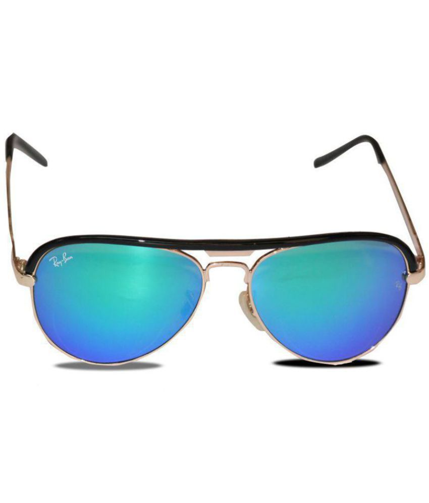 a021ae509c Fashion Blue Aviator Sunglasses ( 3515 GREENMR ) - Buy Fashion Blue Aviator  Sunglasses ( 3515 GREENMR ) Online at Low Price - Snapdeal