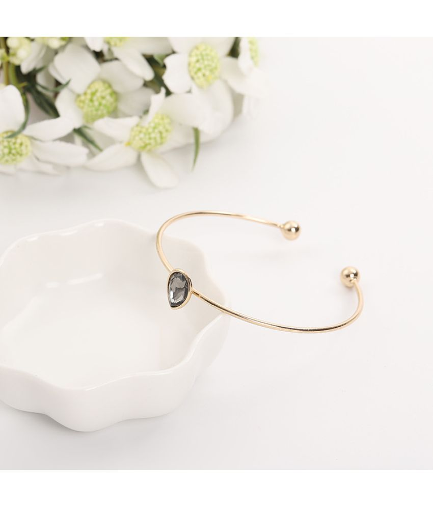 Edition Temperament Color Preserving High-Quality Goods Contracted Joker Set Auger Hearts Flowers Open Bracelet D Act Role Ofing Is Tasted Female Sale
