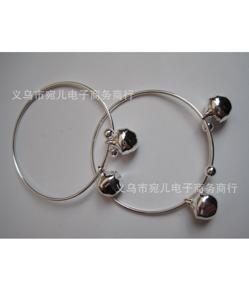 Silver Bell Bracelet Imitation Silver Bracelet One Dollar Shop National Jewelry