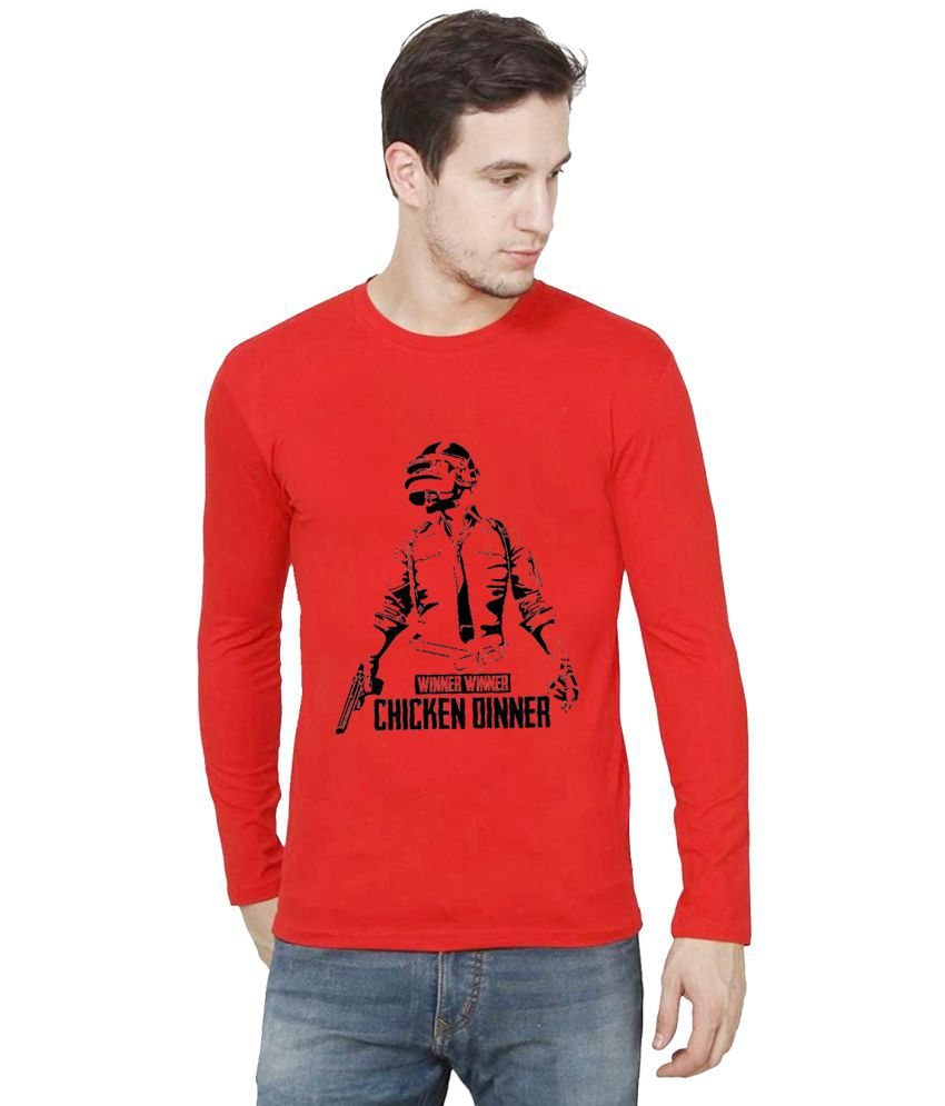 British Terminal Red Half Sleeve T-Shirt Pack of 1