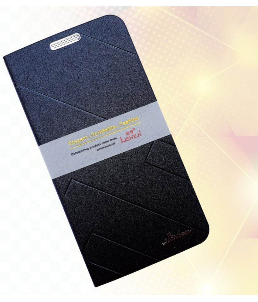Oppo A3S Flip Cover by Shanice - Blue lishen flip cover