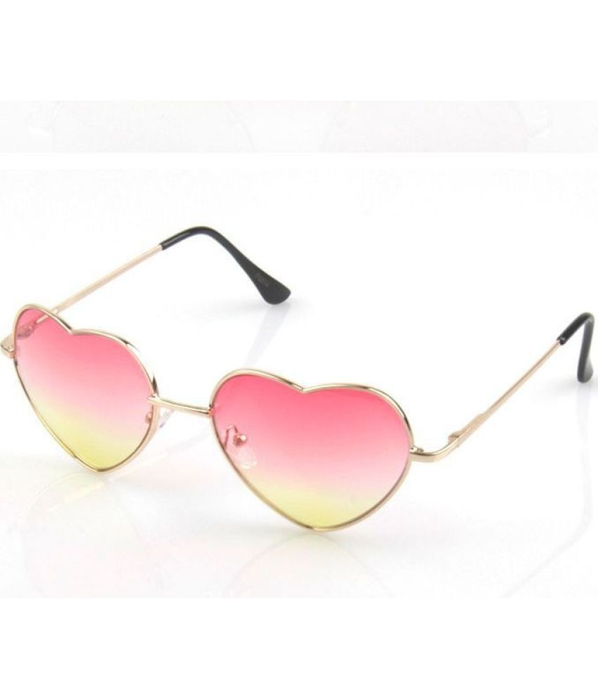 Sharp Angle Multicolor Square Sunglasses ( x )