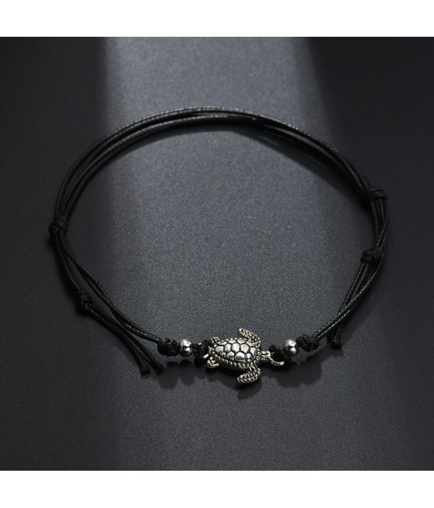 2018 Bohemian Retro D Rope Ankle Bracelet Ankles Personality Alloy Tortoise Beach D Rope