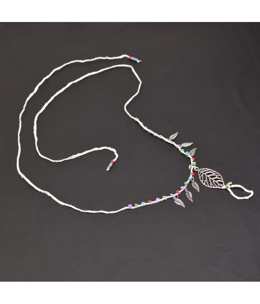 Fashion Accessories Simple Free Beach Chain Alloy Leaves D-Beaded Long Chain H249
