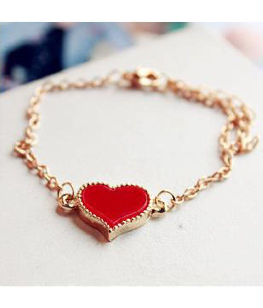 Korea Jewelry Small Objects Love Clover Bracelet Anklet Version Sweet Fashion