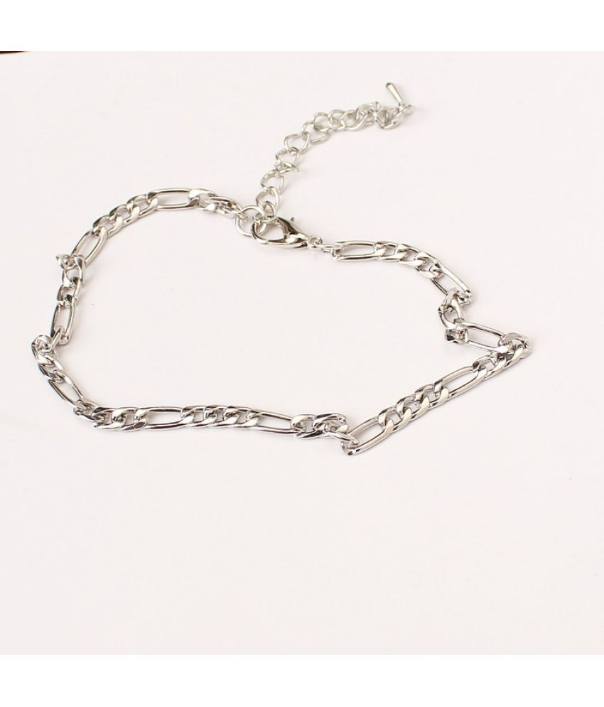 New Jewelry Fashion Simple 100 Pieces Of Metal Chain Women Y Foot Chain Naked Chain
