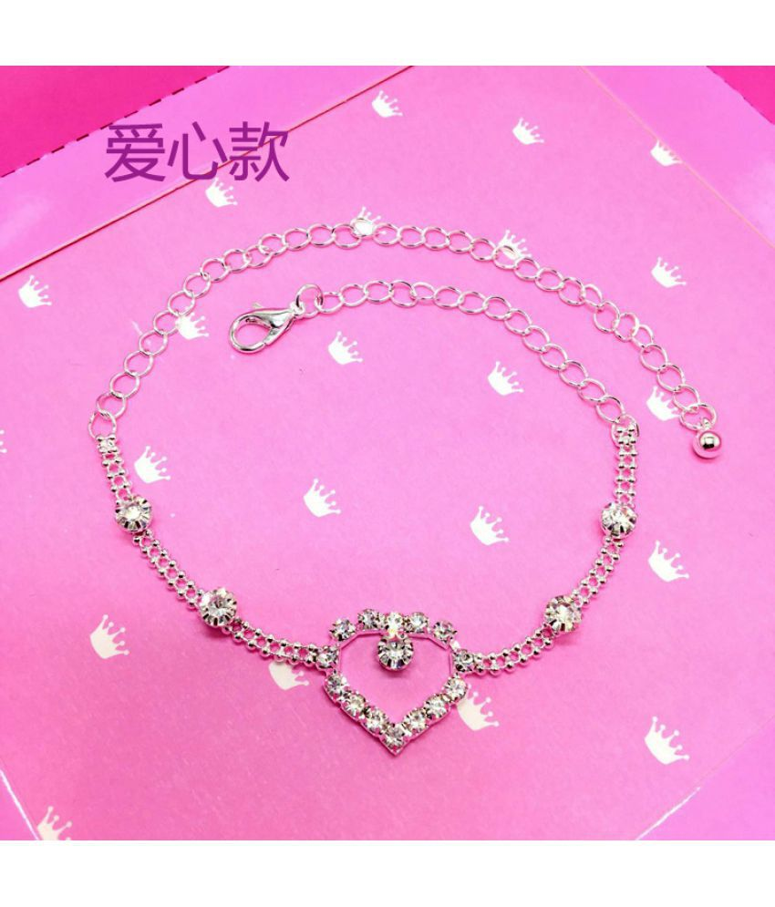 New  Pedicure Love Bow Water Drill Extension Pedicel Chain Women'S Pedicure  Pedicure Chain