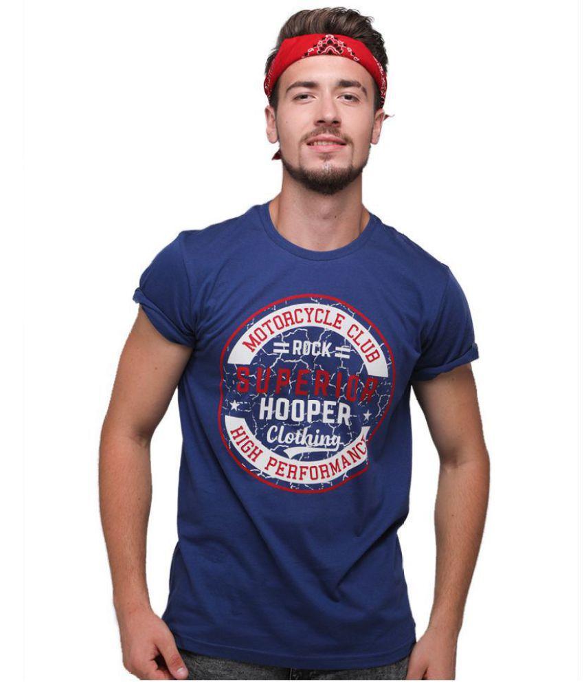 Rock Hooper Blue Half Sleeve T-Shirt