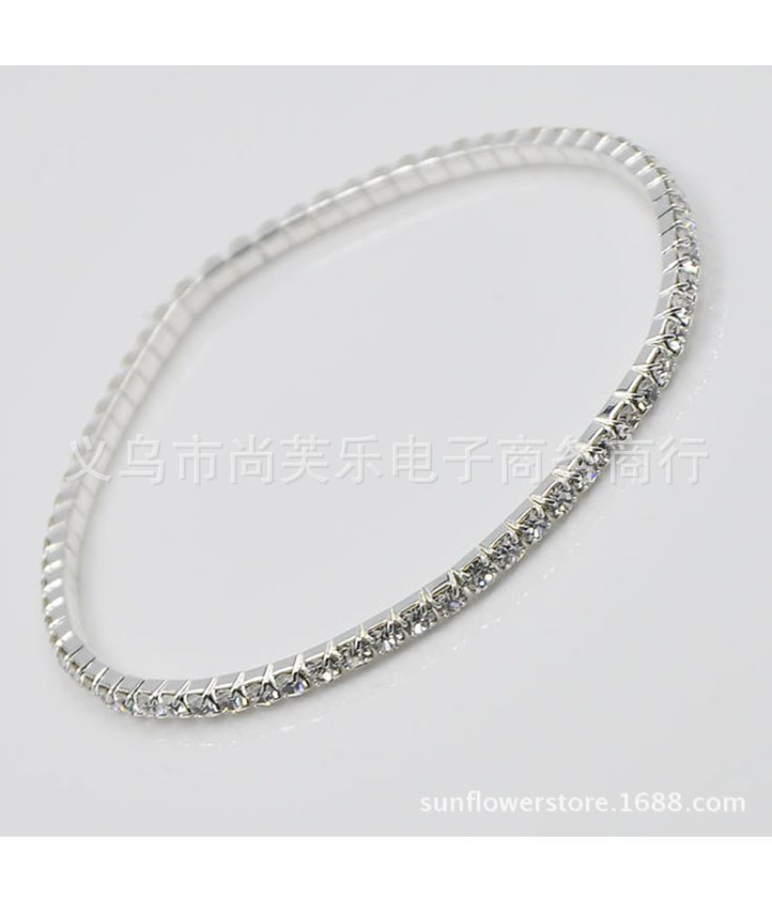 The Bride With Drill Anklets  Edition Single S Zuan Stretch Set Auger Anklets Crystal Chains