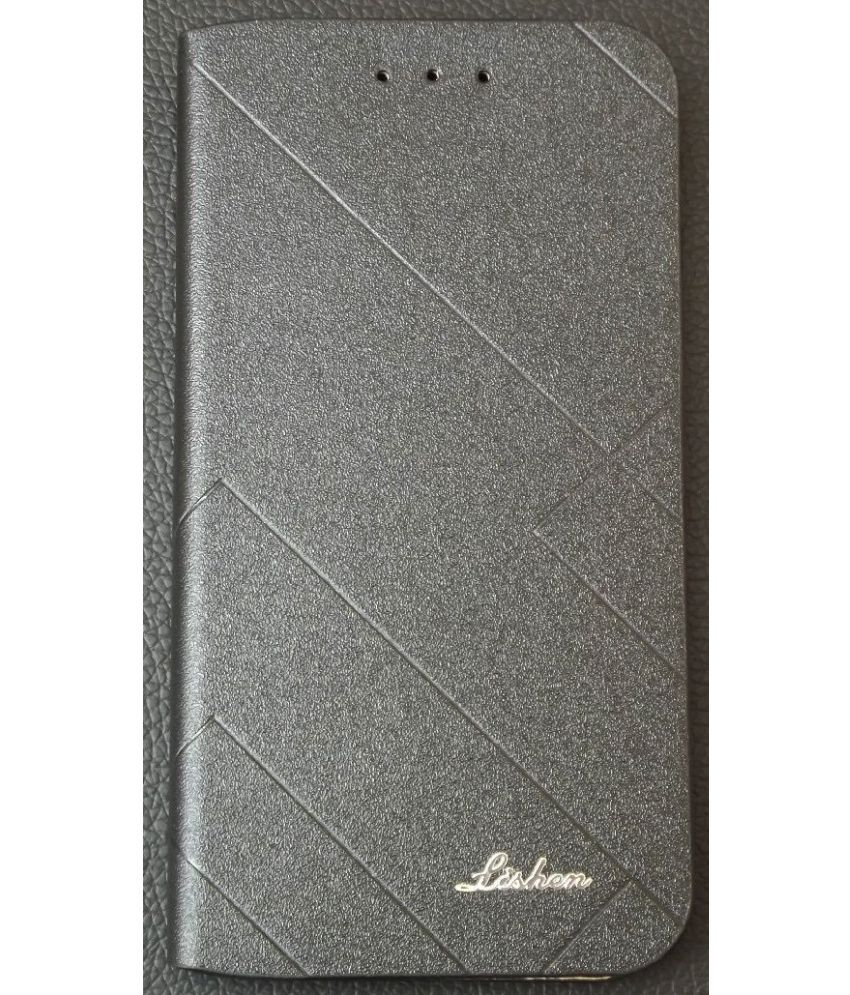 2.1 Flip Cover by VinyakMobile - Black lishen flip cover