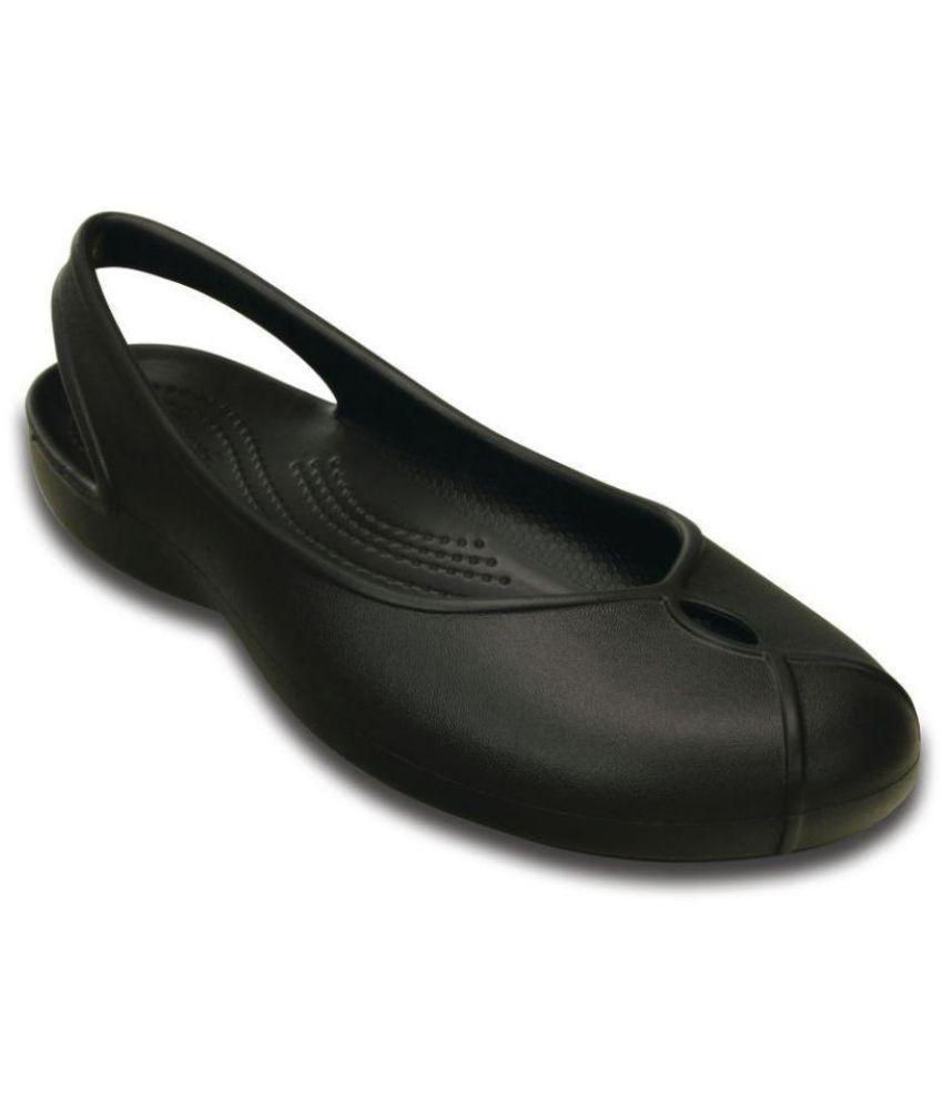 914b884e6fee Crocs Black Ballerinas Price in India- Buy Crocs Black Ballerinas Online at  Snapdeal