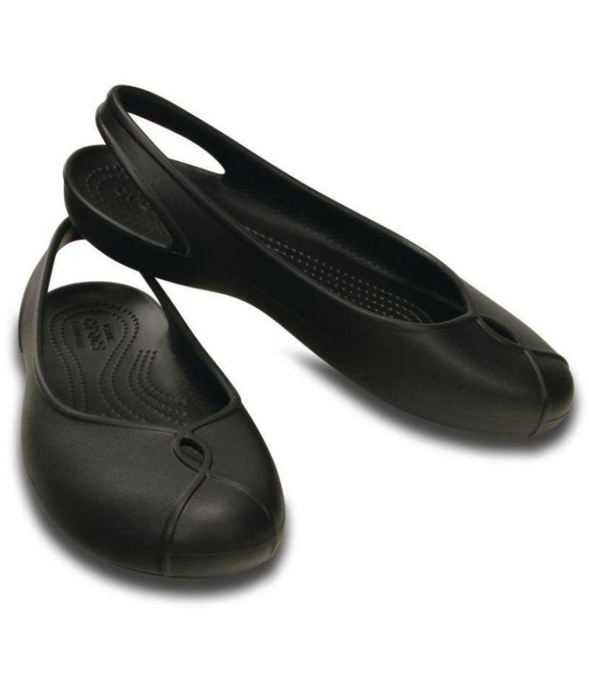 e82b1b62e472 Crocs Black Ballerinas Price in India- Buy Crocs Black Ballerinas ...