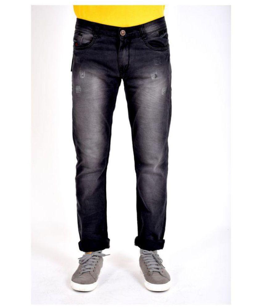 POSH EXCLUSIVE FOR MEN Black Straight Jeans