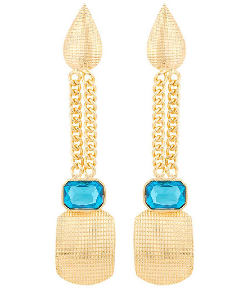 Voylla Blue Amun Stylish Danglers For Women