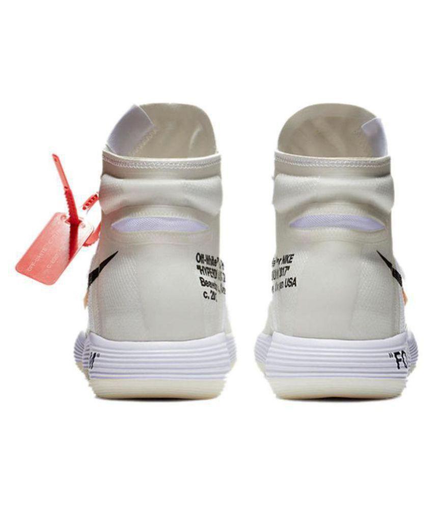 fd18274890f3 Nike React Hyperdunk Flyknit Off- White Basketball Shoes - Buy Nike ...