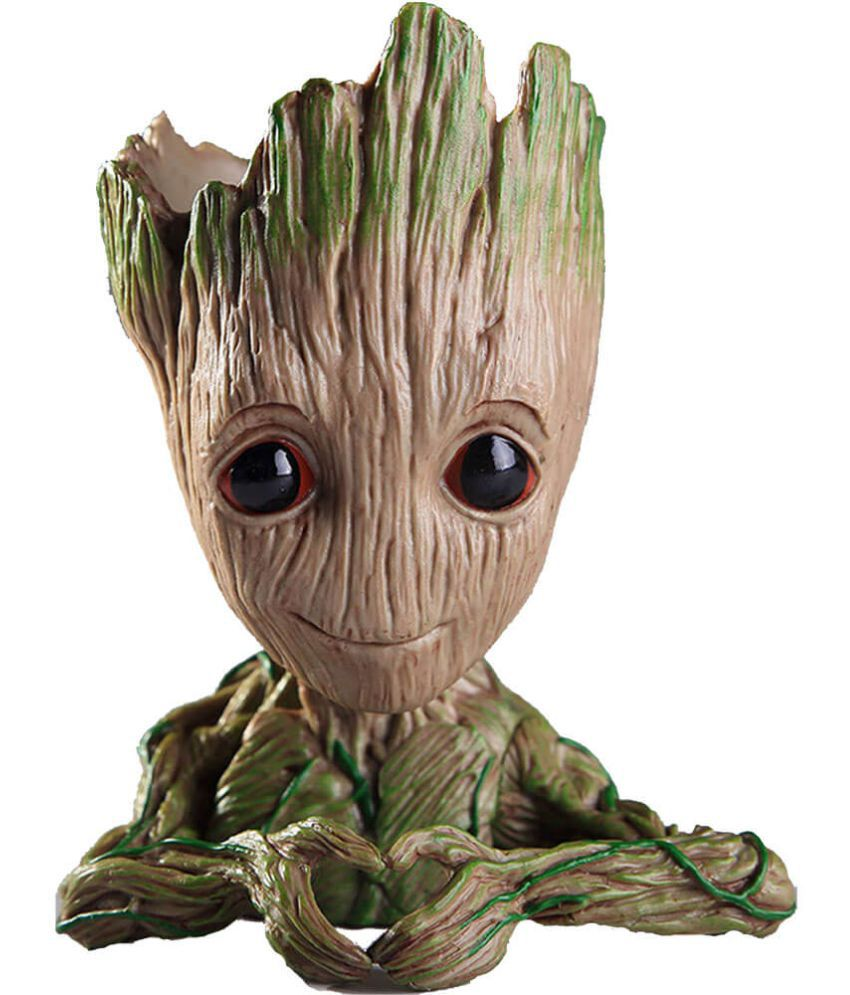 3b65f456 Marvel Avengers Infinity War flower Pot Baby Groot Wooden Look Tree  Flowerpot Pen Container Toy Gift - Heart Design - Buy Marvel Avengers  Infinity War ...