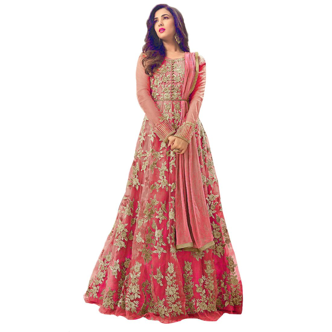 08aeefaf60 KAPANKU Red and Beige net Anarkali Gown Semi-Stitched Suit - Buy KAPANKU Red  and Beige net Anarkali Gown Semi-Stitched Suit Online at Best Prices in  India ...