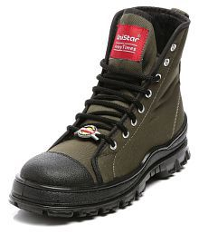 UniStar Outdoor Olive Casual Shoes