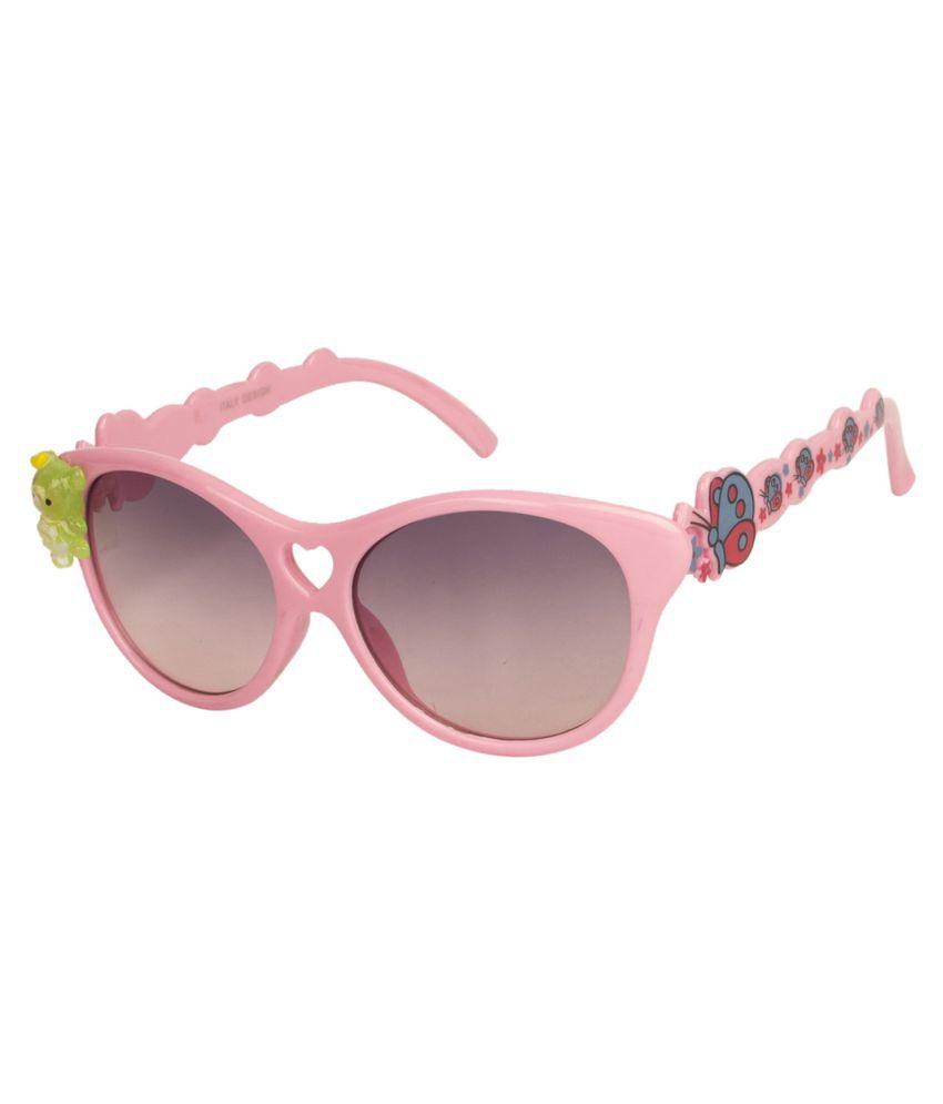 LOF Black Cat Eye Sunglasses ( V-7307 )