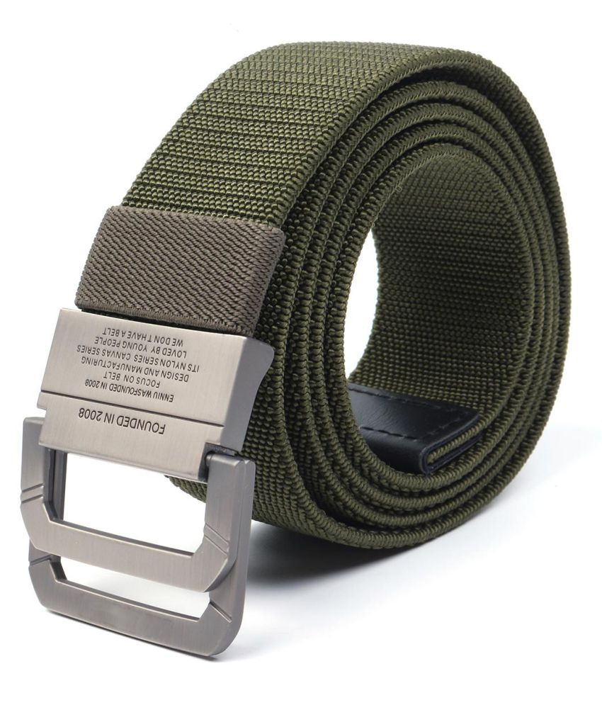 Men Belt Sport Waistband Adjustable Army Military Tactical Combat Metal Buckle