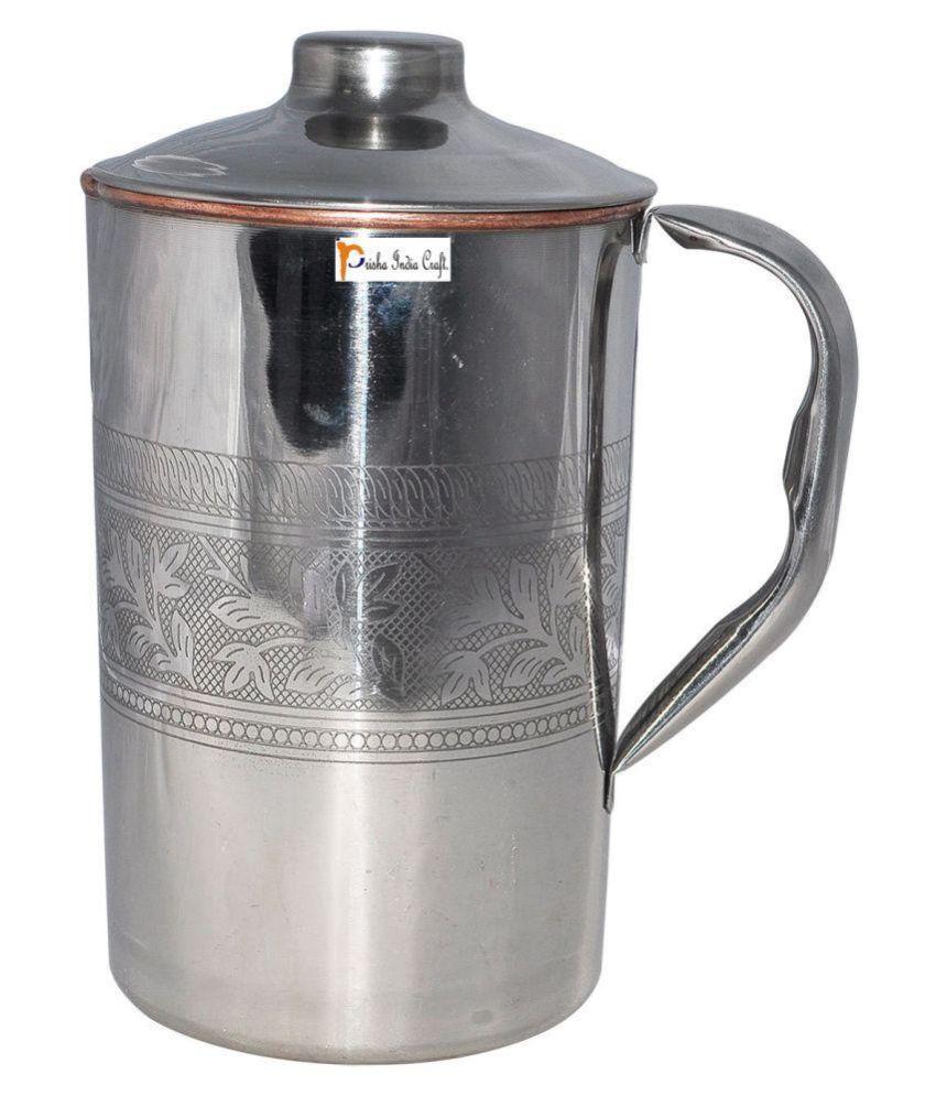 Prisha India Craft Copper Pitchers 1500 ml