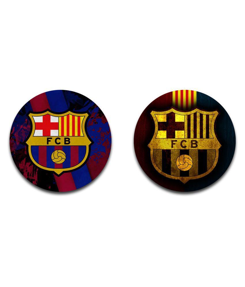 EFW Button Badge FCB Barcelona (58mm, Multicolour)