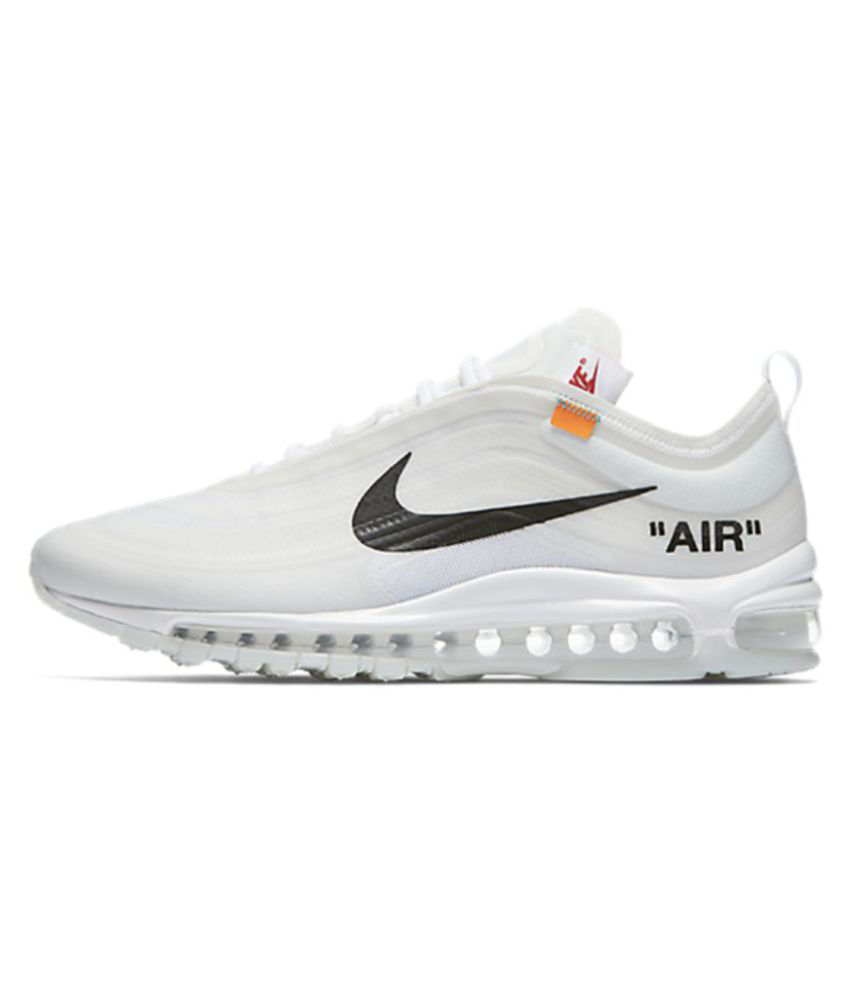 1a9783560ca0 Nike Air Max 97 2019 LTD Running Shoes White  Buy Online at Best Price on  Snapdeal