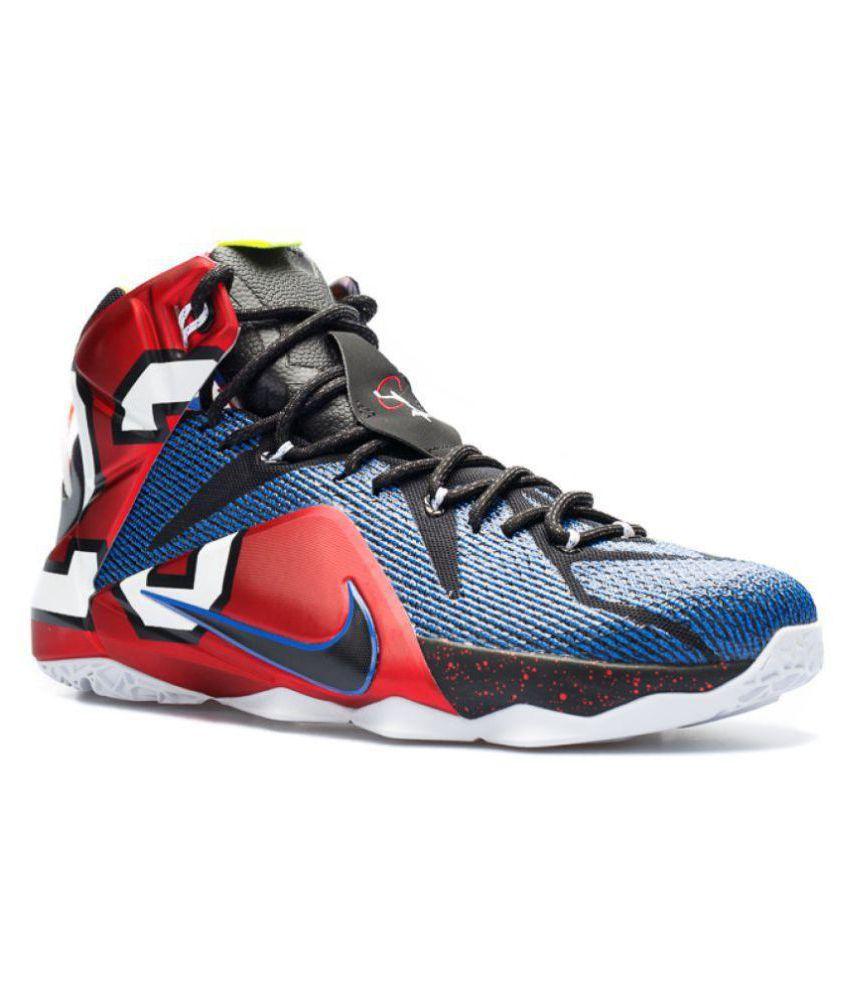info for 36d5e d30b3 Nike Lebron X12 Phantom Multi Color Basketball Shoes