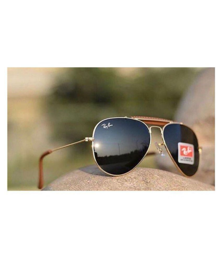 eb41e2b65 Ray Ban Avaitor Black Aviator Sunglasses ( 3022/14/58 ) - Buy Ray Ban  Avaitor Black Aviator Sunglasses ( 3022/14/58 ) Online at Low Price -  Snapdeal