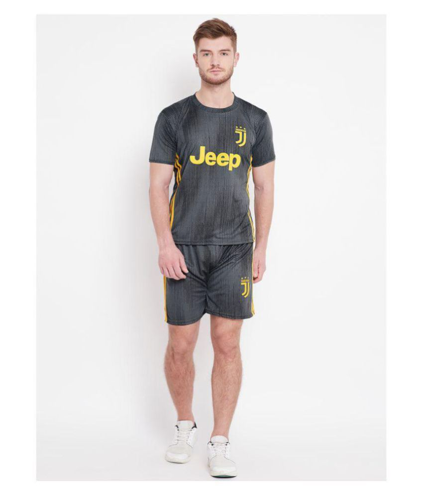 7a23fadba Sportigoo Unisex JUVENTUS Football Jersey Away (Grey)  Buy Online at Best  Price on Snapdeal