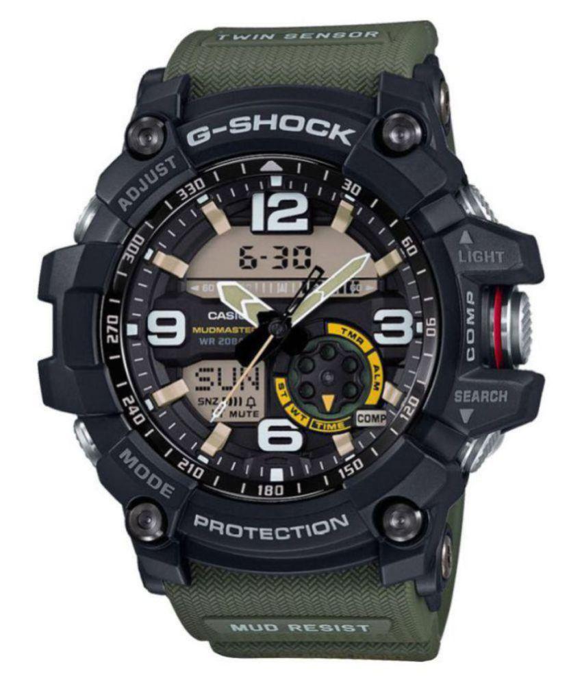 Men Fashion Shock Resistant Watch Mudmaster- GG-1000-1A5DR (G661) Sports Watch