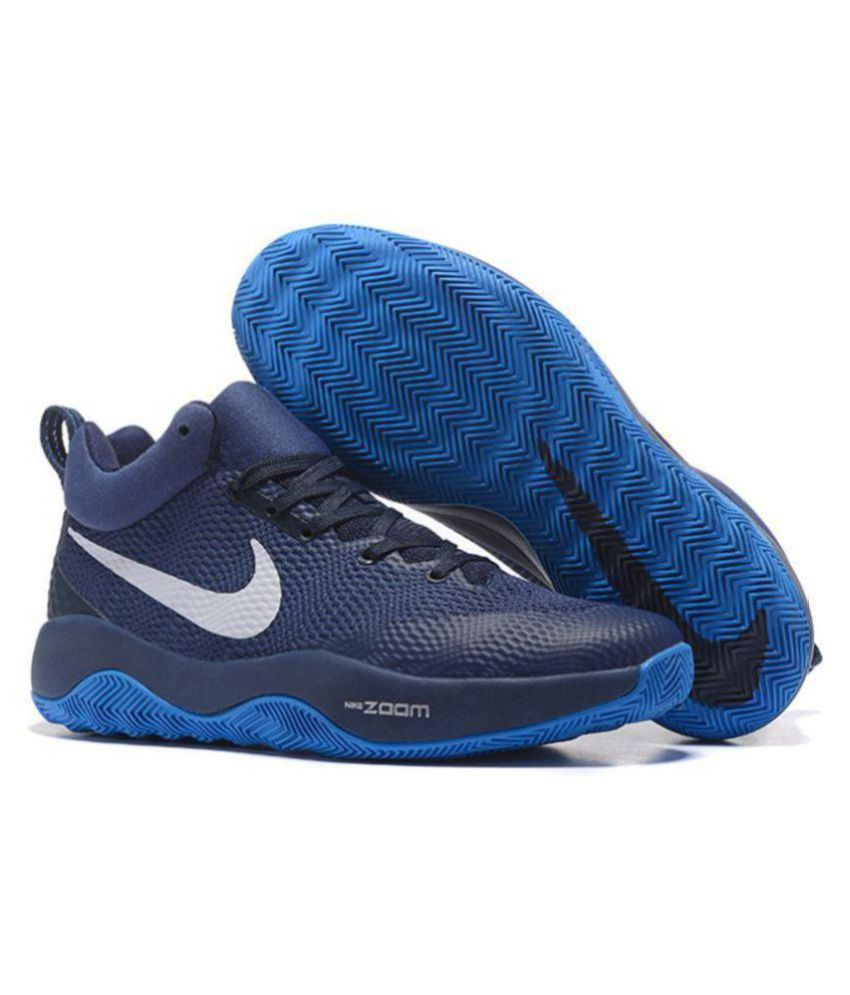 1d7e35194f2b Nike ZOOM HYPER REV Navy Basketball Shoes - Buy Nike ZOOM HYPER REV Navy  Basketball Shoes Online at Best Prices in India on Snapdeal