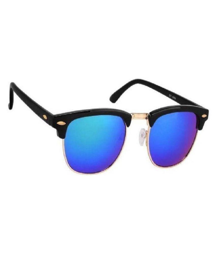 fc5db12ef633c Flynn Blue Clubmaster Sunglasses ( Clubmaster Sunglasses for Men   Women )  - Buy Flynn Blue Clubmaster Sunglasses ( Clubmaster Sunglasses for Men    Women ) ...