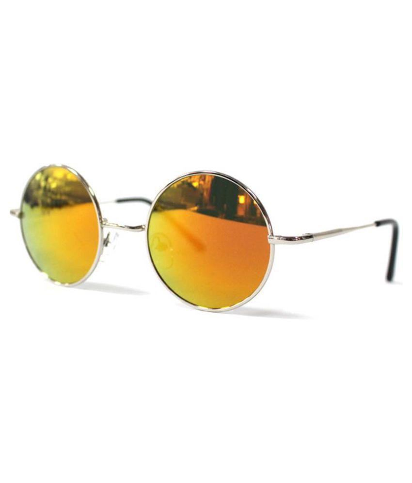 Keralapasanga Yellow Round Sunglasses ( SUNGLASS16 )