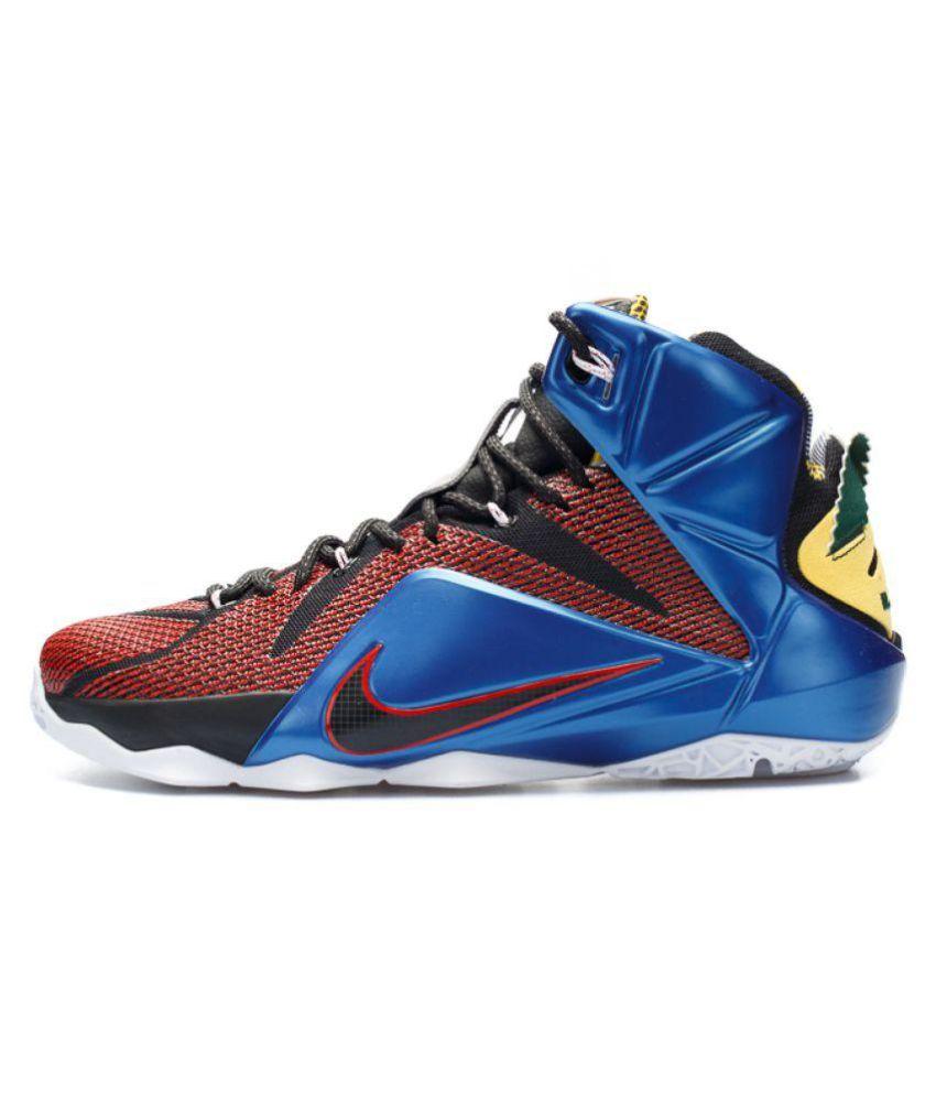 a2a3314729db Nike LEBRON 12 Multi Color Basketball Shoes - Buy Nike LEBRON 12 ...