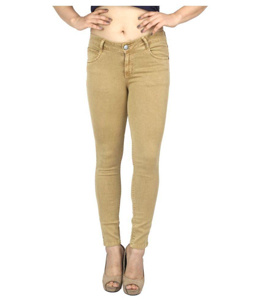 Obeo Denim Jeans - Gold