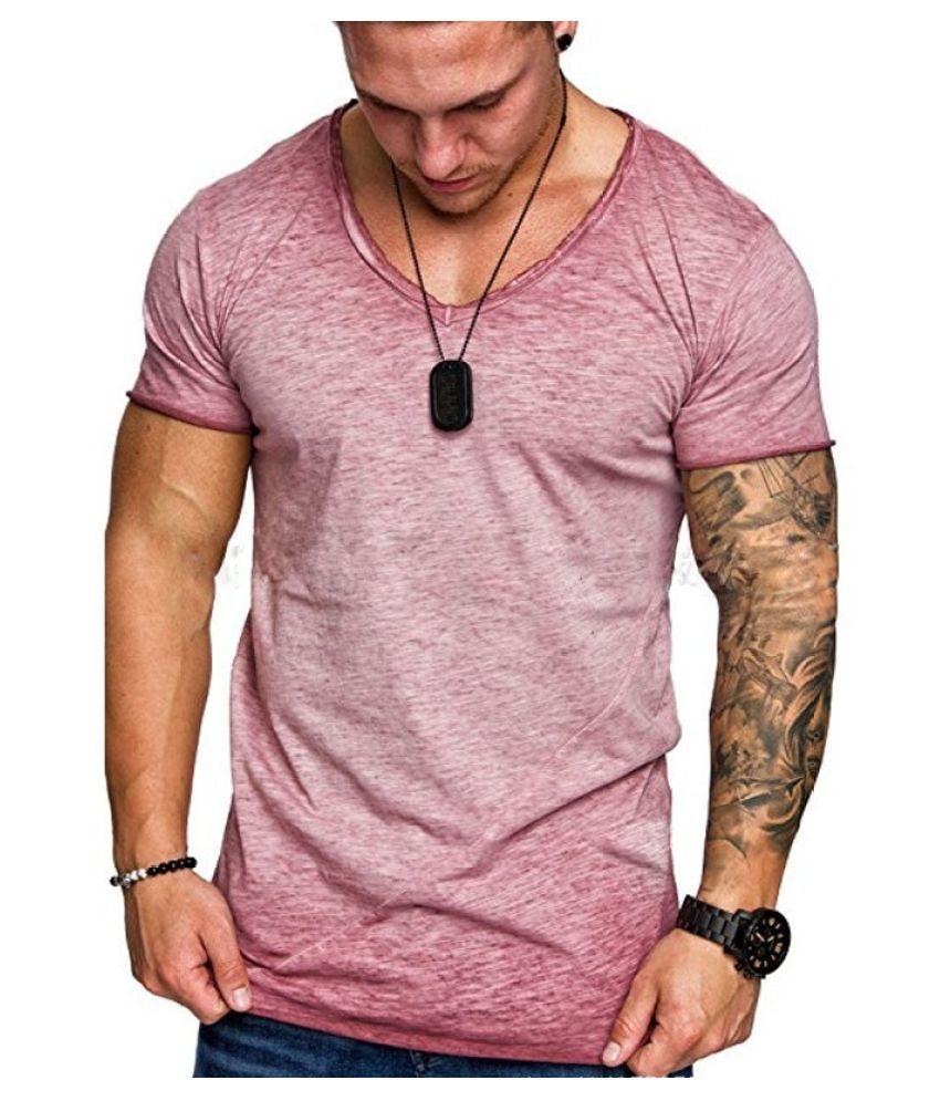 Destiny Red Cotton T-Shirt Single Pack