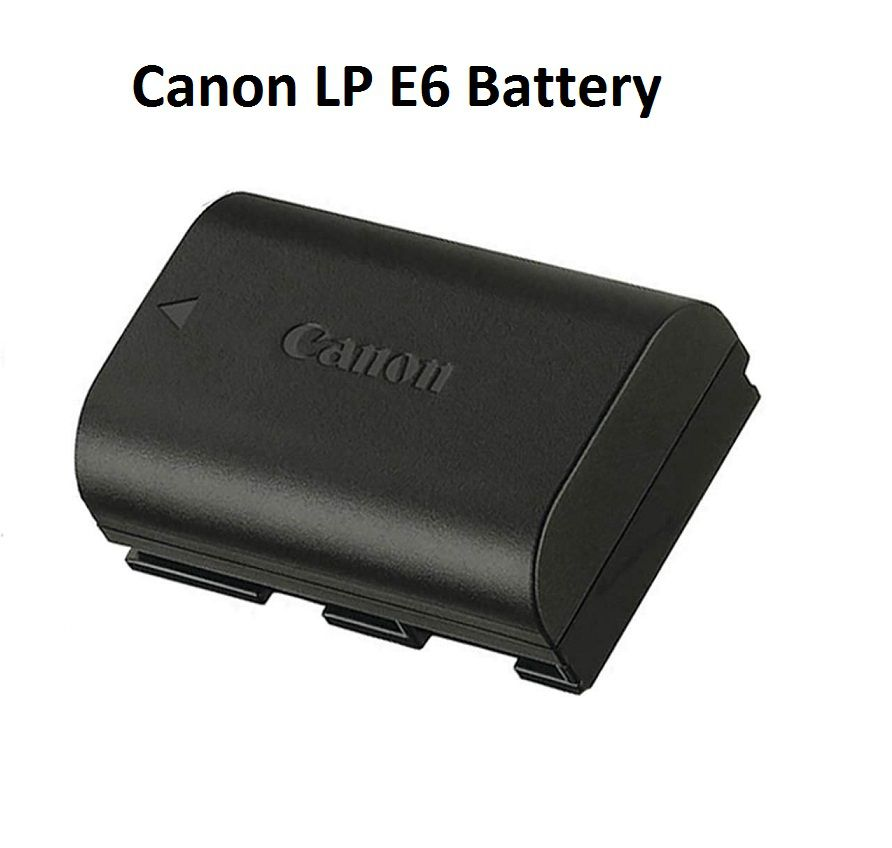 Canon LP E6 Original Battery For EOS 5D Mark II III