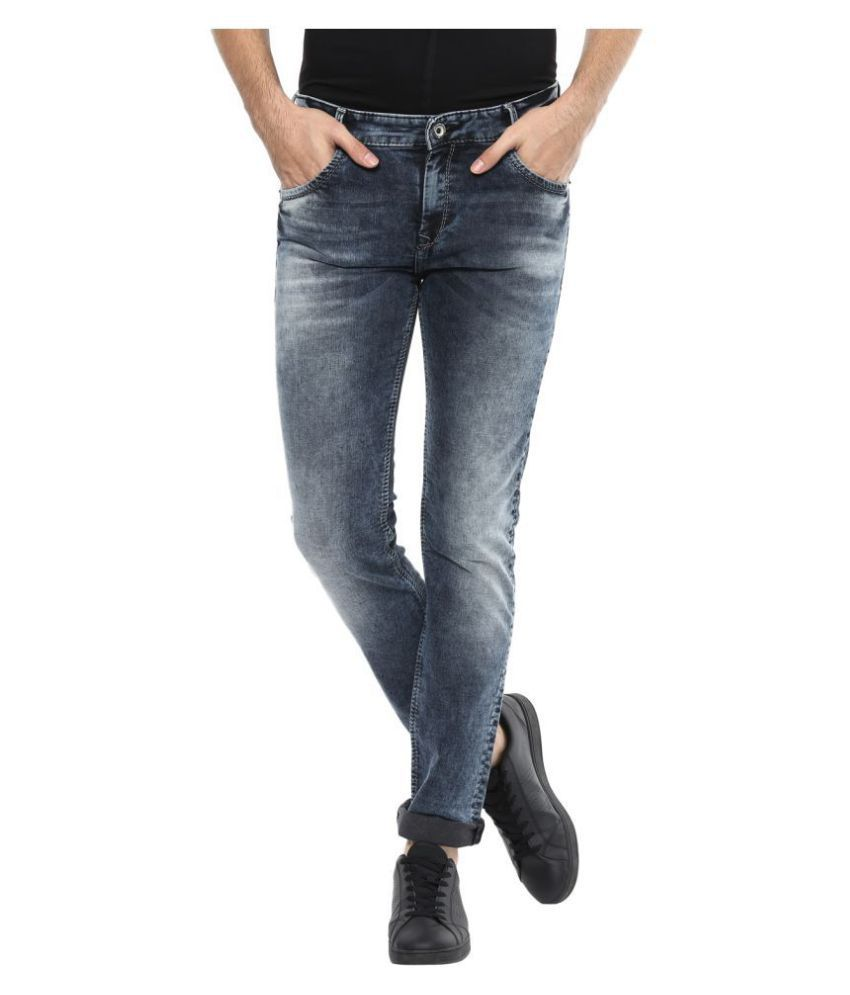 Mufti Black Slim Jeans