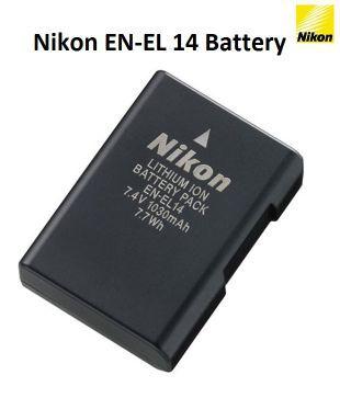 Nikon EN EL 14 Rechargeable Battery for Nikon Digital Cameras