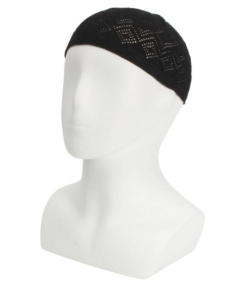 Men Kufi koofi Kofi Hat Skull Cap Islamic Muslim Prayer Topi Head Wear Clothings