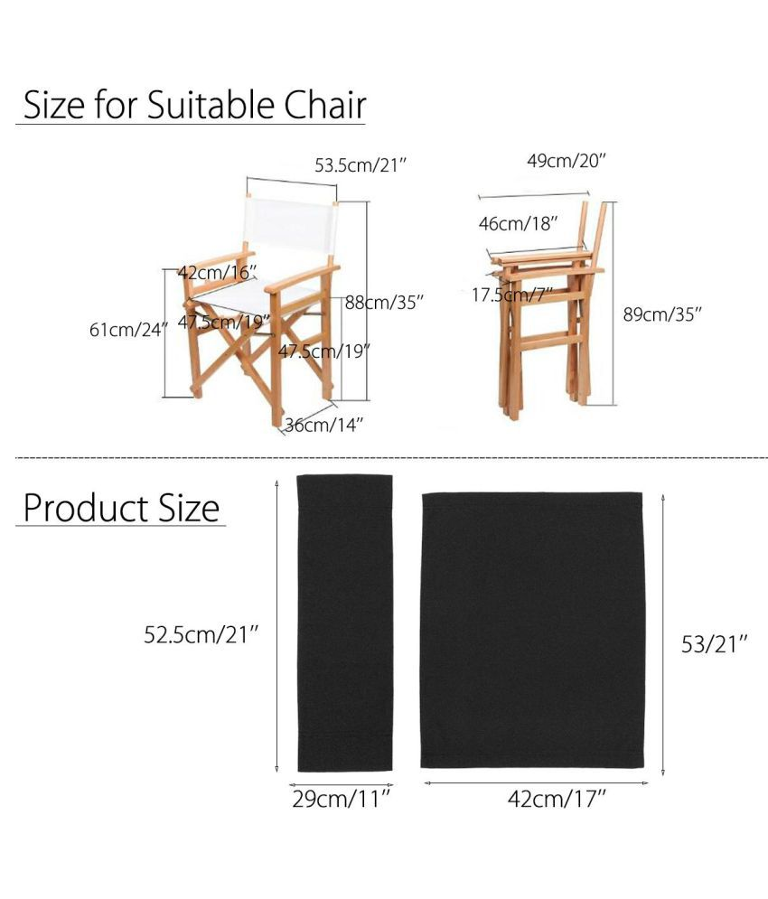 Peachy Buy Directors Chairs Replacement Canvas Cover Waterproof Creativecarmelina Interior Chair Design Creativecarmelinacom