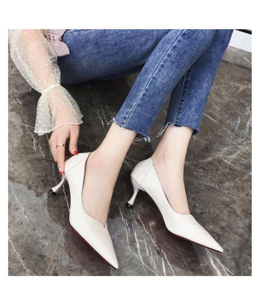 Niti Black Stiletto Heels