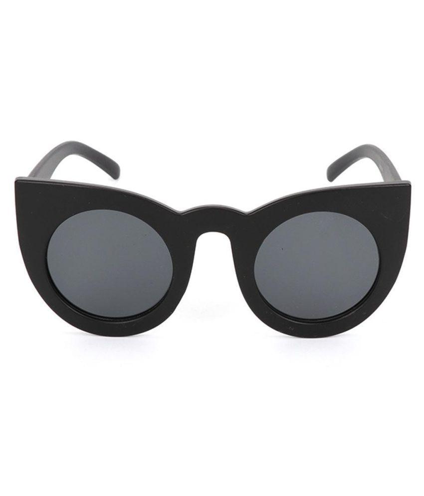 Women Fashion Vintage Style Round Cat Eye Personality Frame Sunglasses