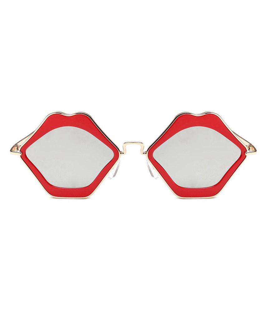 New Unisex Fashion Men Women Eyewear Casual Absurd Lip Shape Sunglasses