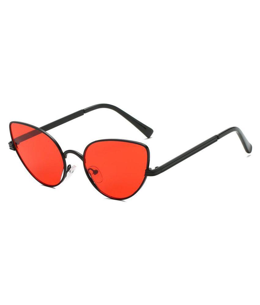 Women Retro Style Fashion Casual Alloy PC Lens Sunglasses