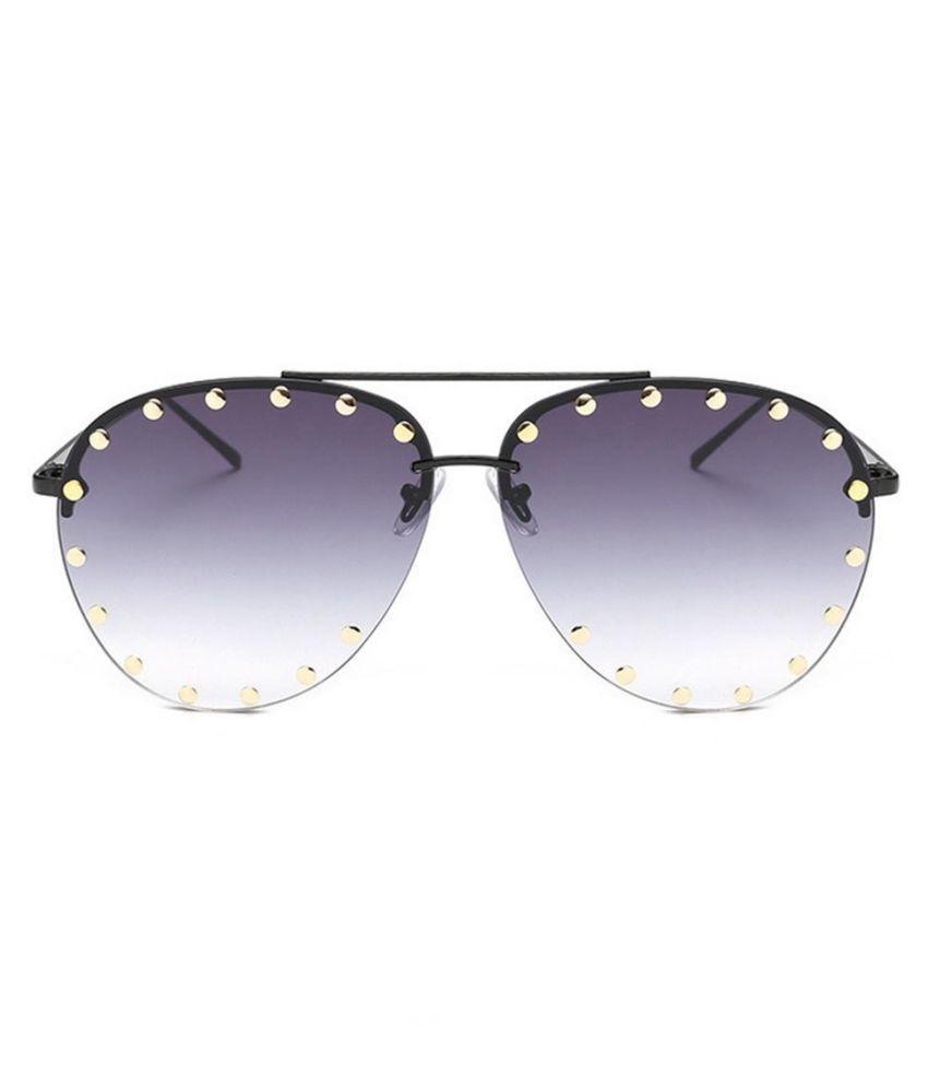 7cad82013f3 ... Red Lens Design Men Women s Sunglasses For Rivet Metal Frame  Transparent Glasses ...
