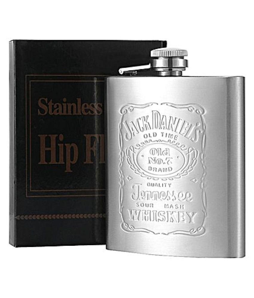 APNA KANHA Steel Hip Flask 8 Oounce