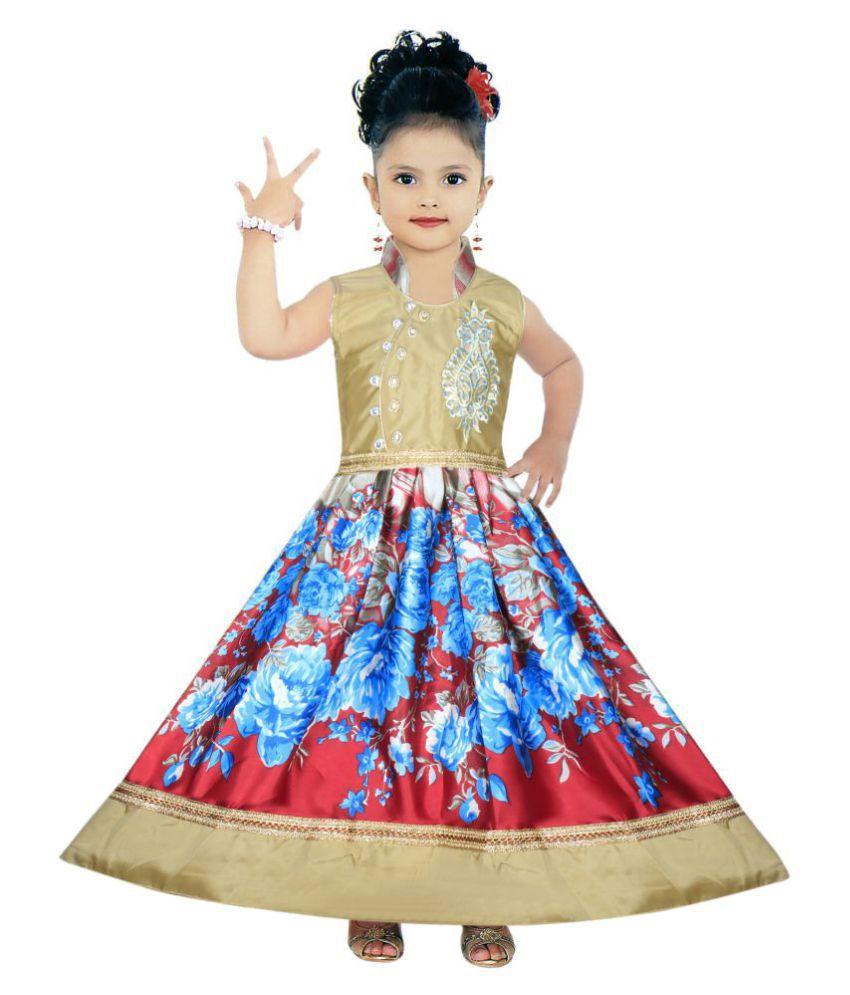 410f636ff587 Benkils Cute Fashion Kids Girls Dress Princess Party Wear Frock ...